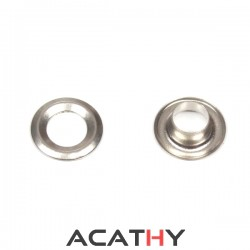 Oeillet rond nickel 8 mm