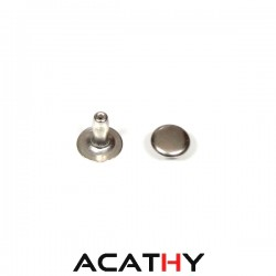 Rivet standard nickel 6 mm