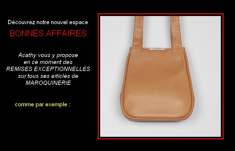 Bonnes affaires sac femme en cuir made in France